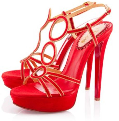 Christian Louboutin Troisronds in Red - Lyst