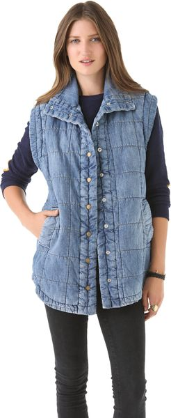 Citizens Of Humanity Cocoon Vest - Lyst