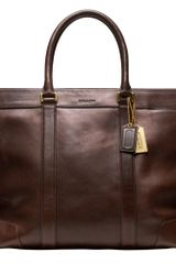 Coach Bleecker Legacy Leather Weekend Tote - Lyst