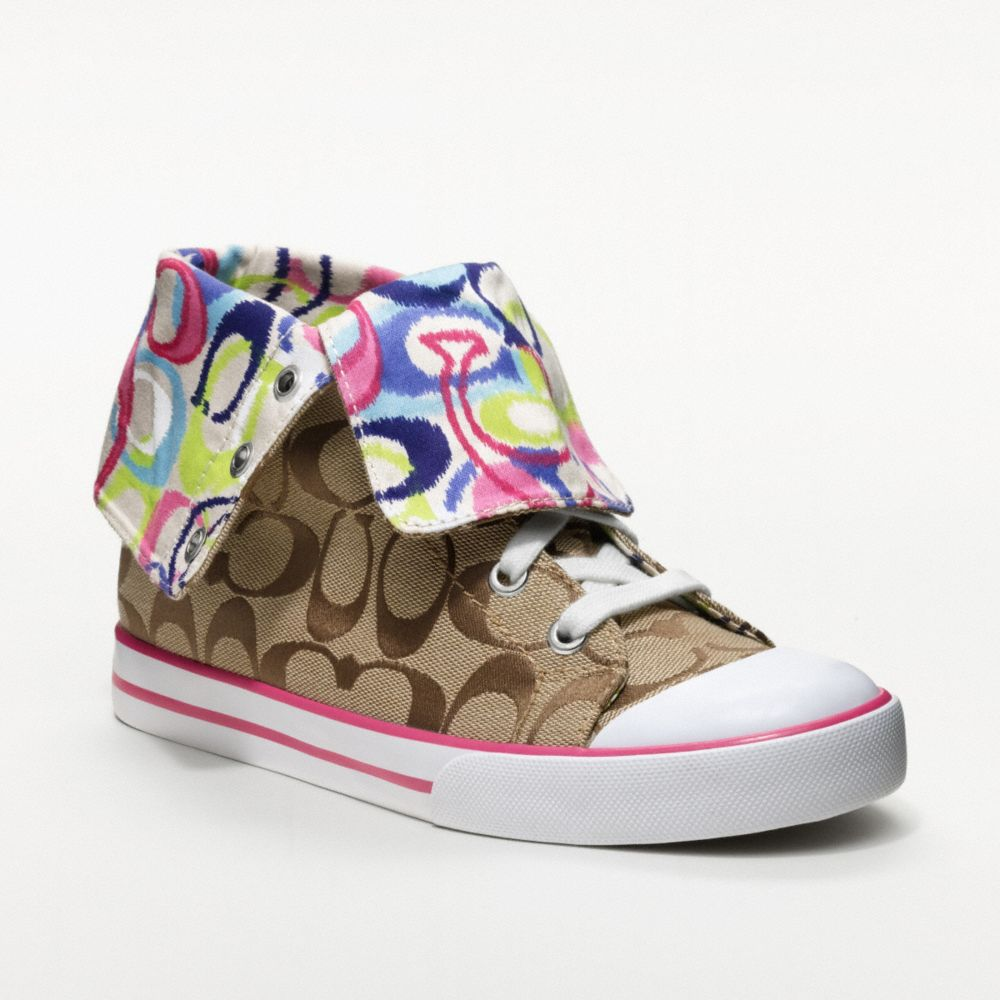 netherlands macys coach shoes 32f94 e08a7  norway lyst coach bonney sneaker  e92c1 44b30 b302d44f8c26