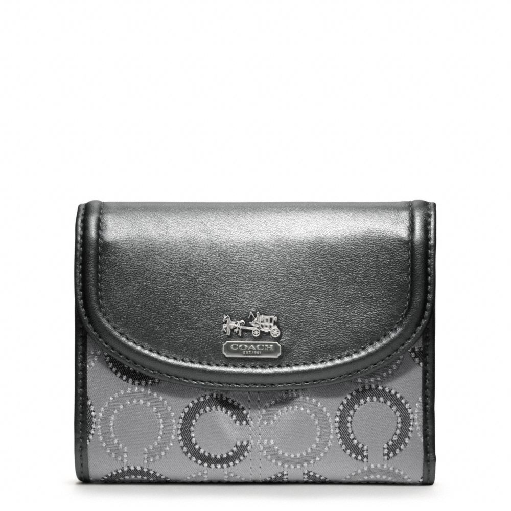 coach gray purse 7fh3  coach gray wallet