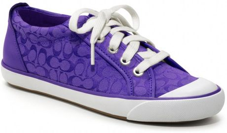 Coach Barrett Sneaker in Purple (ultraviolet
