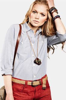 Denim & Supply Ralph Lauren Denim Supply Ralph Lauren Chambray Shirt - Lyst