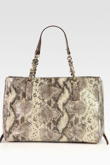 Kate Spade Cobble Hill Andee Snake Embossed Leather Tote - Lyst