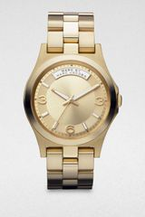 Marc By Marc Jacobs Goldtone Stainless Steel Watch - Lyst