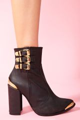 Nasty Gal Bruni Ankle Boot - Lyst