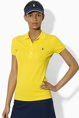 Ralph Lauren Tennis Slim Fit Stretch Mesh Club Polo Shirt - Lyst