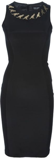 Sophie Hulme Jaynes Dress in Black - Lyst