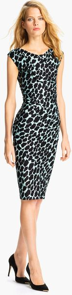 Diane Von Furstenberg Luisa Silk Jersey Sheath Dress - Lyst