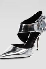 Elizabeth And James Metallic Cutout Pump - Lyst