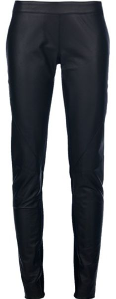 Gareth Pugh Skinny Fit Trouser in Black - Lyst