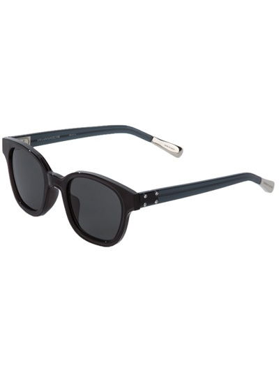 Vans Glasses Frame : Kris Van Assche Square Frame Sunglasses in Black Lyst