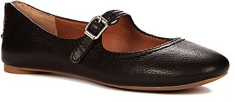 Lucky Brand Flats Esmie Mary Jane in Black - Lyst