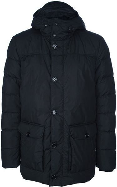 Moncler Ludovic Parka in Black for Men
