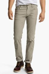 Nudie Jeans Slim Jim Slim Straight Leg Corduroy Pants - Lyst