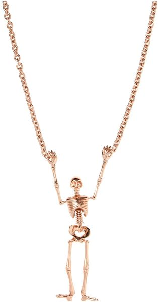 Vivienne Westwood Large Skeleton Necklace - Lyst