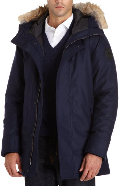 Canada Goose' jacket navy