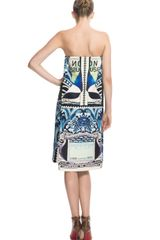 Mary Katrantzou Starsailor Dress in Blue (blue multi) - Lyst