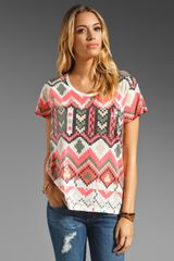 Sass & Bide The Kingdom Sequin Tee - Lyst