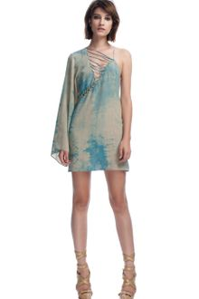 Versace Tiedye Cocktail Dress - Lyst