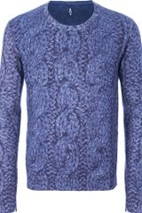 Asola Printed Long Sleeve Jumper - Lyst