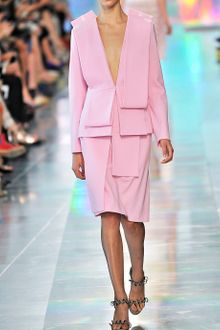 Christopher Kane Pink Asymmetric Pencil Skirt - Lyst