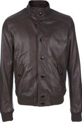 Dacute Leather Jacket - Lyst