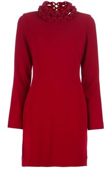 Diane Von Furstenberg Giada Crepe Shift Dress - Lyst