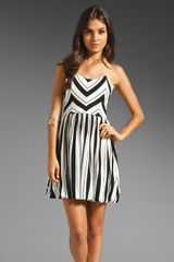 Ella Moss Ringo Stripe Dress - Lyst
