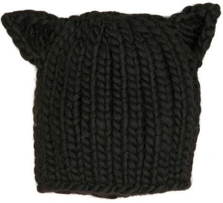 Eugenia Kim Felix Black Cat Hat