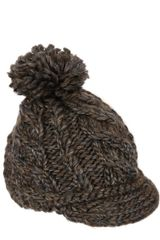 Eugenia Kim Cara Tweed Stripe Ribbed Wool Beanie Hat - Lyst