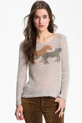 Free People Pony Ride Sweater - Lyst