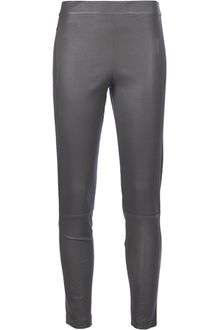 Givenchy Lamb Skin Leggings - Lyst