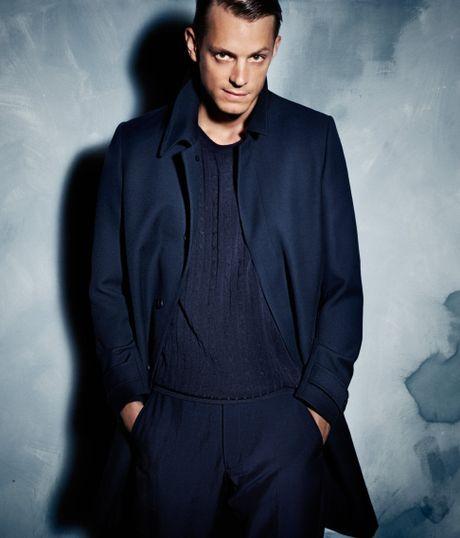 H&m Coat in Blue For Men