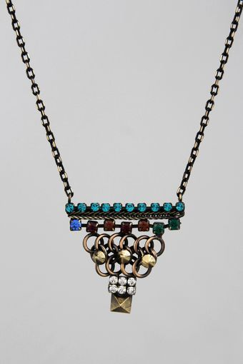 Iosselliani Tribal Deco Necklace - Lyst