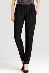 Joie Pants Lacinda New Solid Lace - Lyst