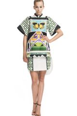 Mary Katrantzou Teleport Tunic