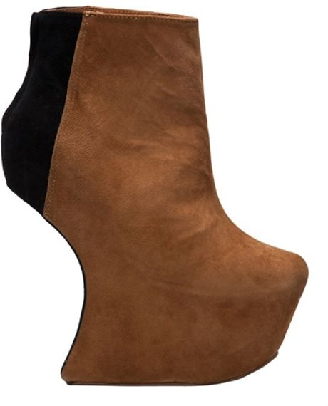 Jeffrey Campbell Night Mate Boot in Beige (nude) - Lyst
