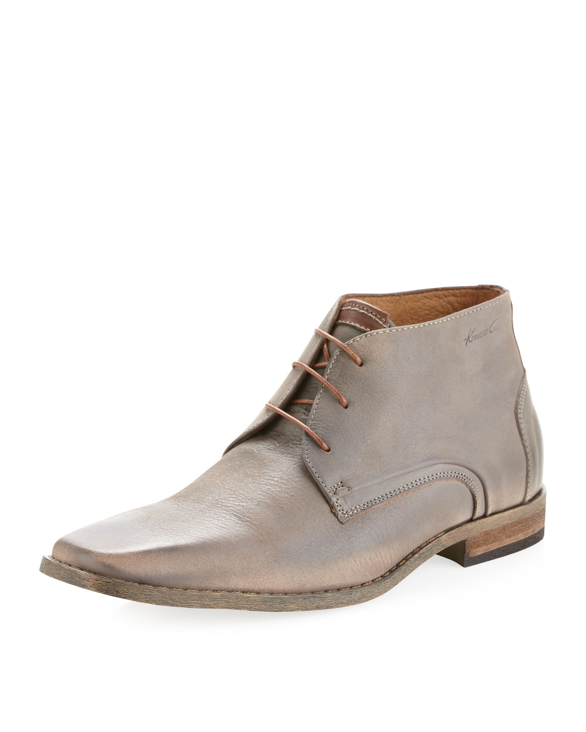 kenneth cole step chukka boot gray in gray for null