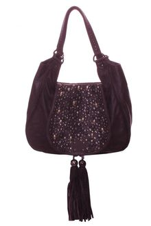 Sara Berman Louis Purse Top Tote Burgundy - Lyst
