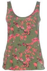 Thakoon Addition Printed Vest Top - Lyst