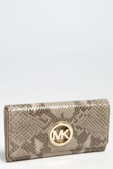 Michael by Michael Kors Fulton Medium Carryall Wallet - Lyst