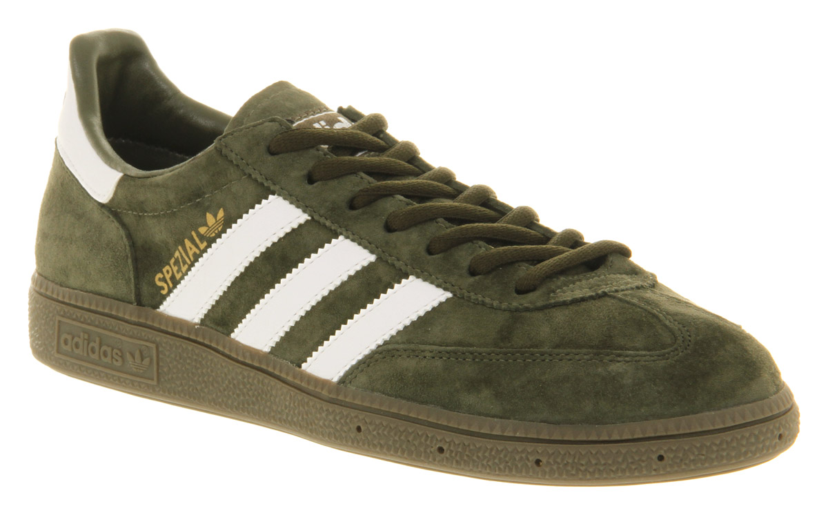 For Dk In Lyst Men Green Adidas Olivewtgum Spezial 6X5Aw