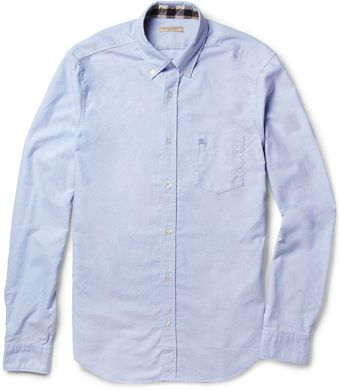 Burberry Brit Button Down Collar Cotton Oxford Shirt - Lyst