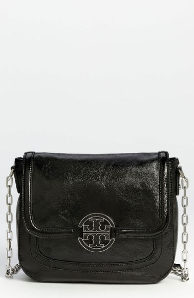 Tory Burch Amanda Crossbody Bag in Black - Lyst