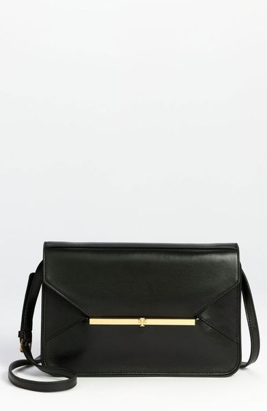 Tory Burch Penelope Envelope Crossbody Bag in Black - Lyst