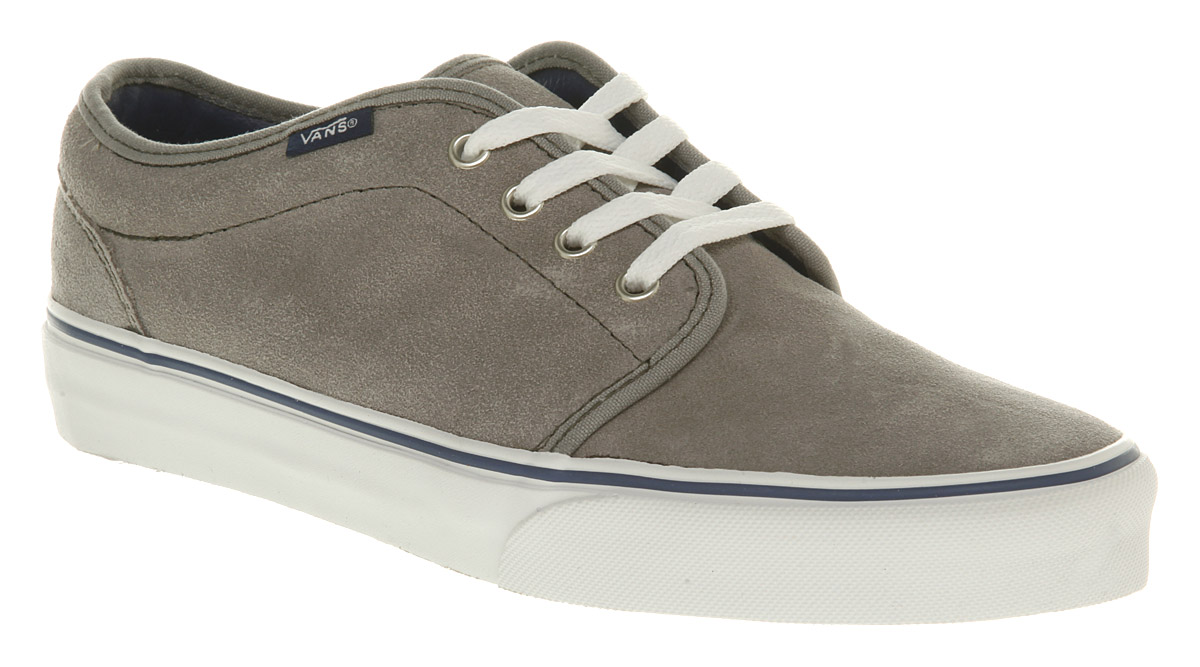 a593fd0dca Lyst - Vans 106 Vulcanized Cloudblu Suede in Gray for Men