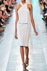 Christopher Kane Ss Halter Neck Bolt Dress