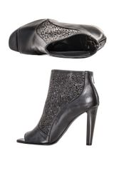 Diane Von Furstenberg Angel Ankle Boots in Black - Lyst