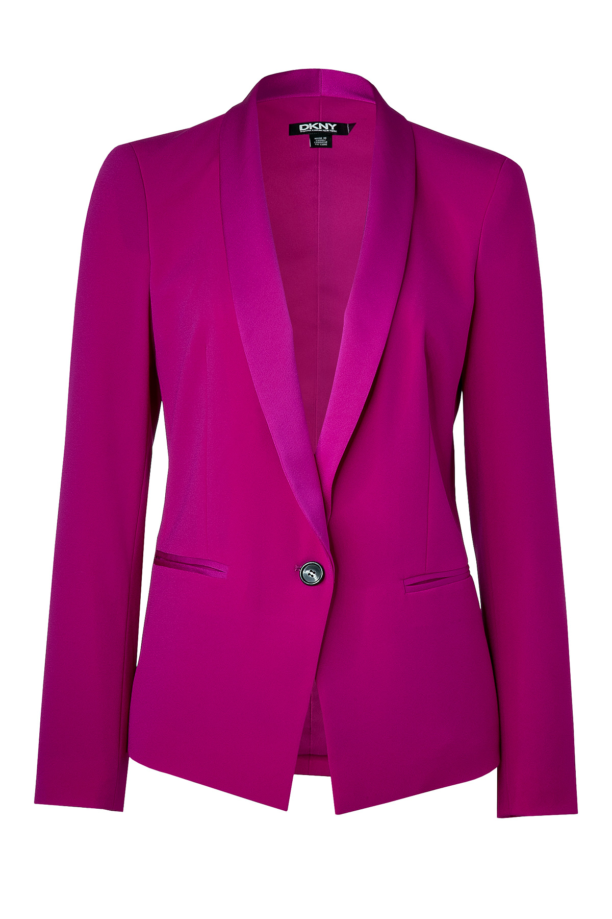 iPhone designer iphone cases : Dkny Jazzberrymagenta Tuxedo Blazer in Purple : Lyst